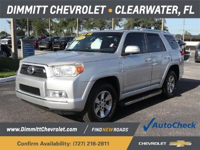 2011 Toyota 4Runner Limited (Classic Silver Metallic)