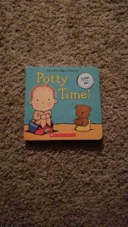 Potty Time Book with sound