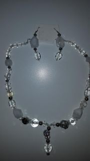 Hand- Crafted Earring and Necklace Set