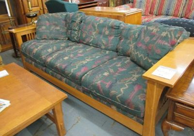 Bassett Mission Style Sofa or Love-seat