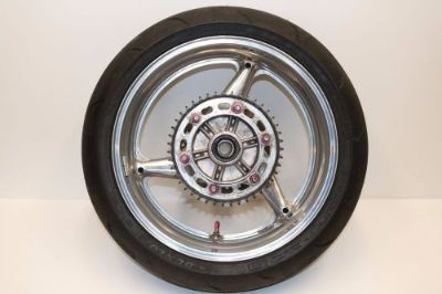 Sell HONDA 954 FIREBLADE 929 REAR WHEEL RIM TIRE BRAKE ROTOR H29 motorcycle in Vancouver, Washington, United States, for US $120.29