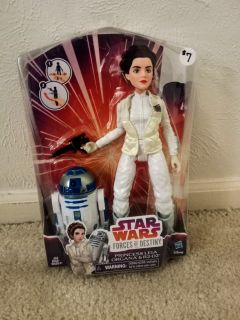 NIB Star Wars Princess Leia & R2-D2