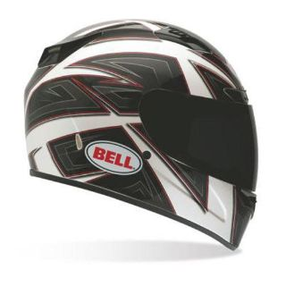 Sell Bell Vortex Full Face Street Motorcycle Helmet Flack White Size Large motorcycle in South Houston, Texas, US, for US $179.95