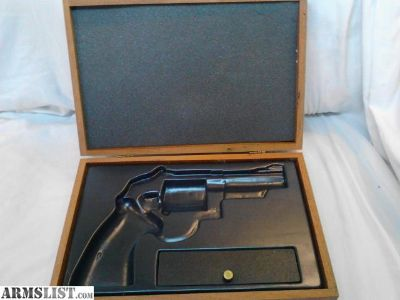 "For Sale: Smith Wesson presentation case 4"" n frame"