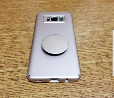 Samsung Galaxy S8 Case with Popsocket and Car Mount