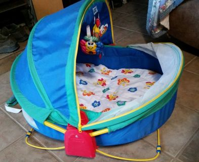 Fisher Price Infant/Baby On-the-Go Play/Sleep Dome