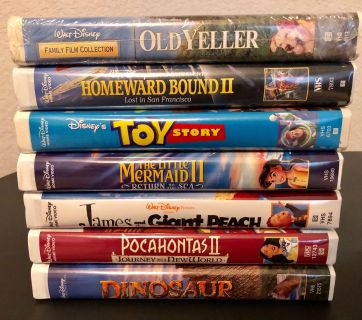 VHS movies for 50 cents each