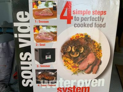 Sous Vide Supreme Demi Water Oven System with Vacuum Sealer *NEW*