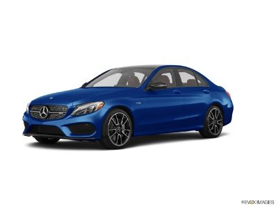 2018 Mercedes-Benz C-Class AMG C 43 (Brilliant Blue Metallic)