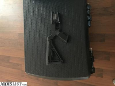 For Sale: Custom Anderson lower receiver
