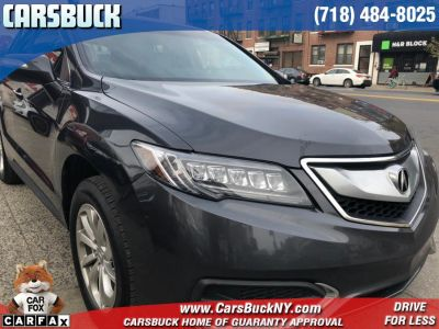 2016 Acura RDX AWD 4dr Tech/AcuraWatch Plus P (Graphite Luster Metallic)