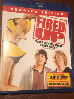 Fired Up Blu-ray Disc dvd movie