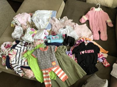 NB- 12 month girl clothes
