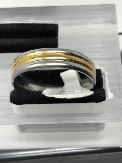 Two Tone Band Size 11