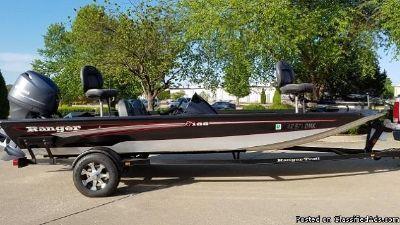 2013 Ranger RT188 Bass Boat