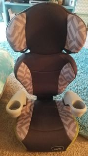 Evenflo high back booster seat