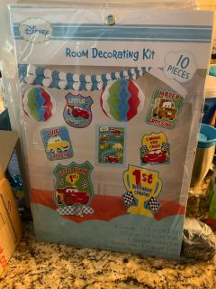 Birthday party decorations (5 sets available)