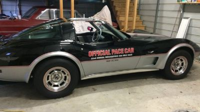 1978 Chevrolet  62nd Indy 500 Pace Car (Black/Silver)