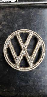 4 tab patina hood emblem