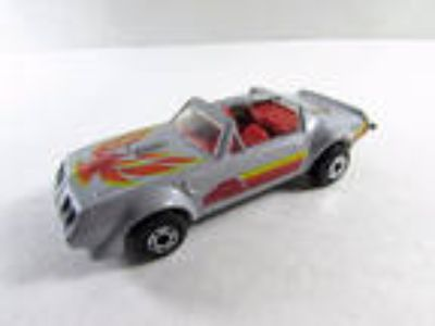 Vintage Matchbox Superfast Firebird Gray