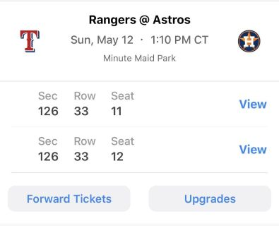 Houston Astros Mothers Day Game