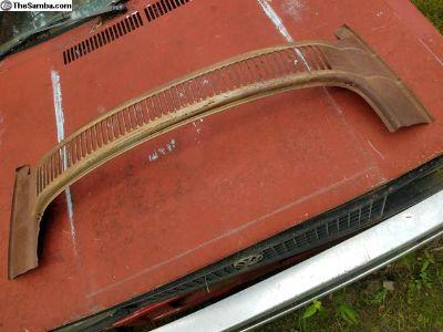 Rear Decklid Windshield Frame Surround Cowl