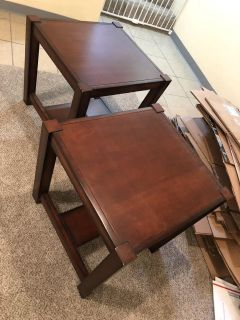 2- end tables / night stands