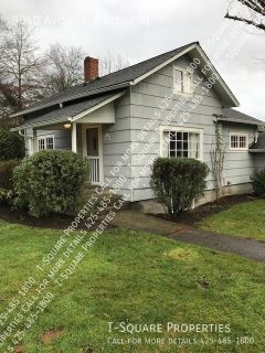 Available Now! Charming Single Family Home! Large Yard in Great Redmond Location!