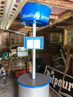 K-MART BLUE LIGHT SPECIAL DISPLAY. OWN A PIECE OF AMERICAN HISTORY.