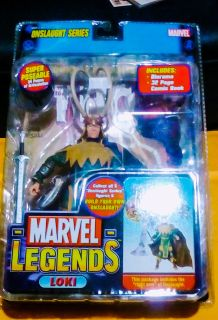 Marvel Legends toybiz Loki