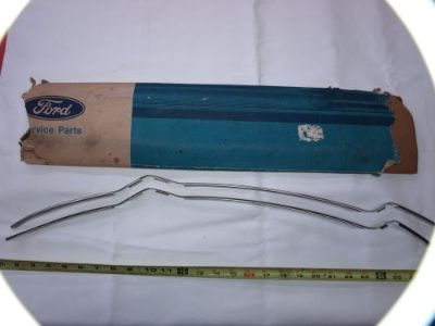 Purchase NOS 1967-72 FORD TRUCK DOOR EDGE GUARDS F100 F250 F350 RANGER XLT 4X4 4X2 CUSTOM motorcycle in Tipp City, Ohio, United States, for US $90.00