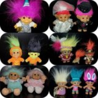 Vintage Troll Doll collection
