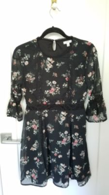 Dress with Lacey waist