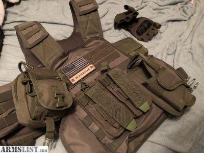 For Sale: Bullet Proof Vest lvl3 tactical 3xl-5xl