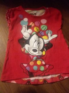 3t minnie mouse shirt