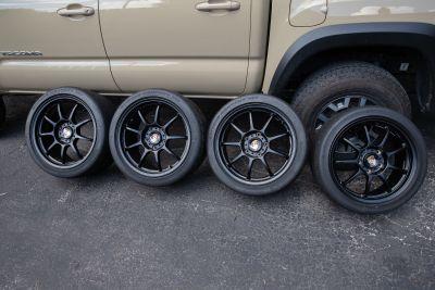 "OZ Racing Alleggerita 18"" wheels and slicks - 996/997"
