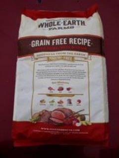 25lb Whole Earth dog food