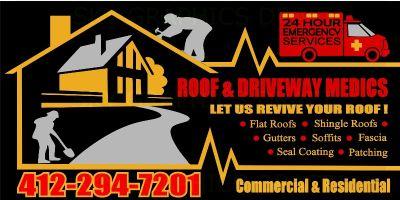THE ROOF AND DRIVEWAY MEDICS,LLC