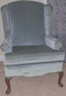 Antique soft gray chair