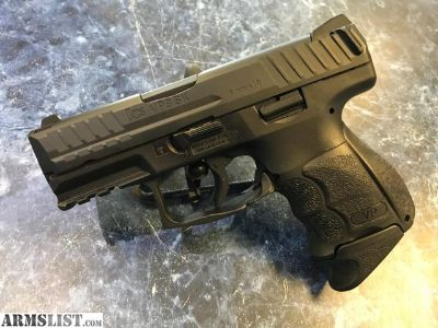 For Sale: LIKE NEW HK VP9 SK with 2 mags backstraps and case!