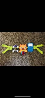 Baby car seat activity Strap