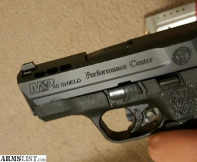 For Sale: Smith & Wesson MP Shield Performance Center 40 SW