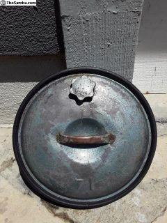 Rare accessory spare wheel gas tank 15 inch wheel
