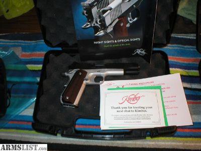 For Sale: Kimber Super Carry Custom W/extras