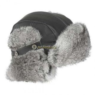 Sell 2017 Ladies' Vintage Rabbit Fur Hat - Black motorcycle in Sauk Centre, Minnesota, United States, for US $67.99