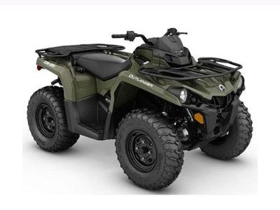 2017 Can-Am Outlander 570 Utility ATVs Lakeport, CA