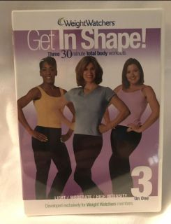 Weight Watchers Get In Shape DVD.. Brand new Sealed package