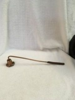 vintage copper candle snuffer