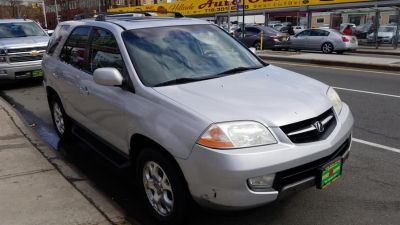 2001 Acura MDX Touring (Starlight Silver Metallic)