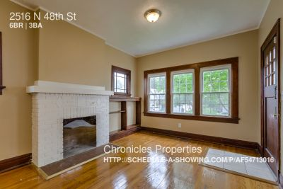 Single-family home Rental - 2516 N 48th St